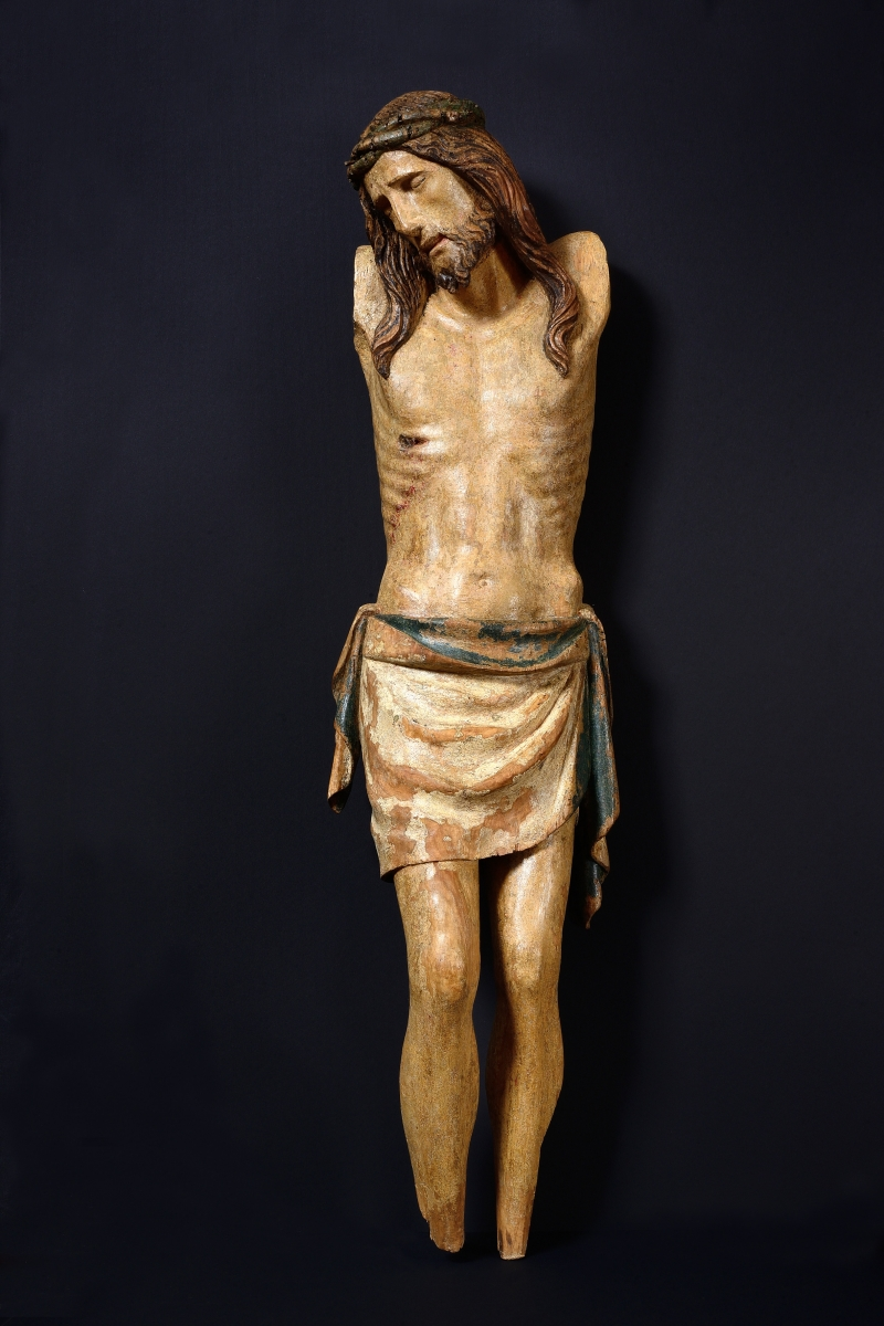 Cristo Morto, Attributed to Urbanino da Surso(c. 1383 – Pavia – c.1461-14