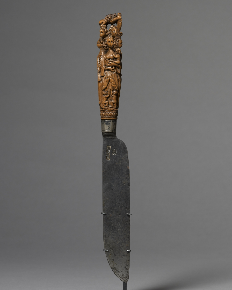 Hafted Knife, Germany, late 17th century