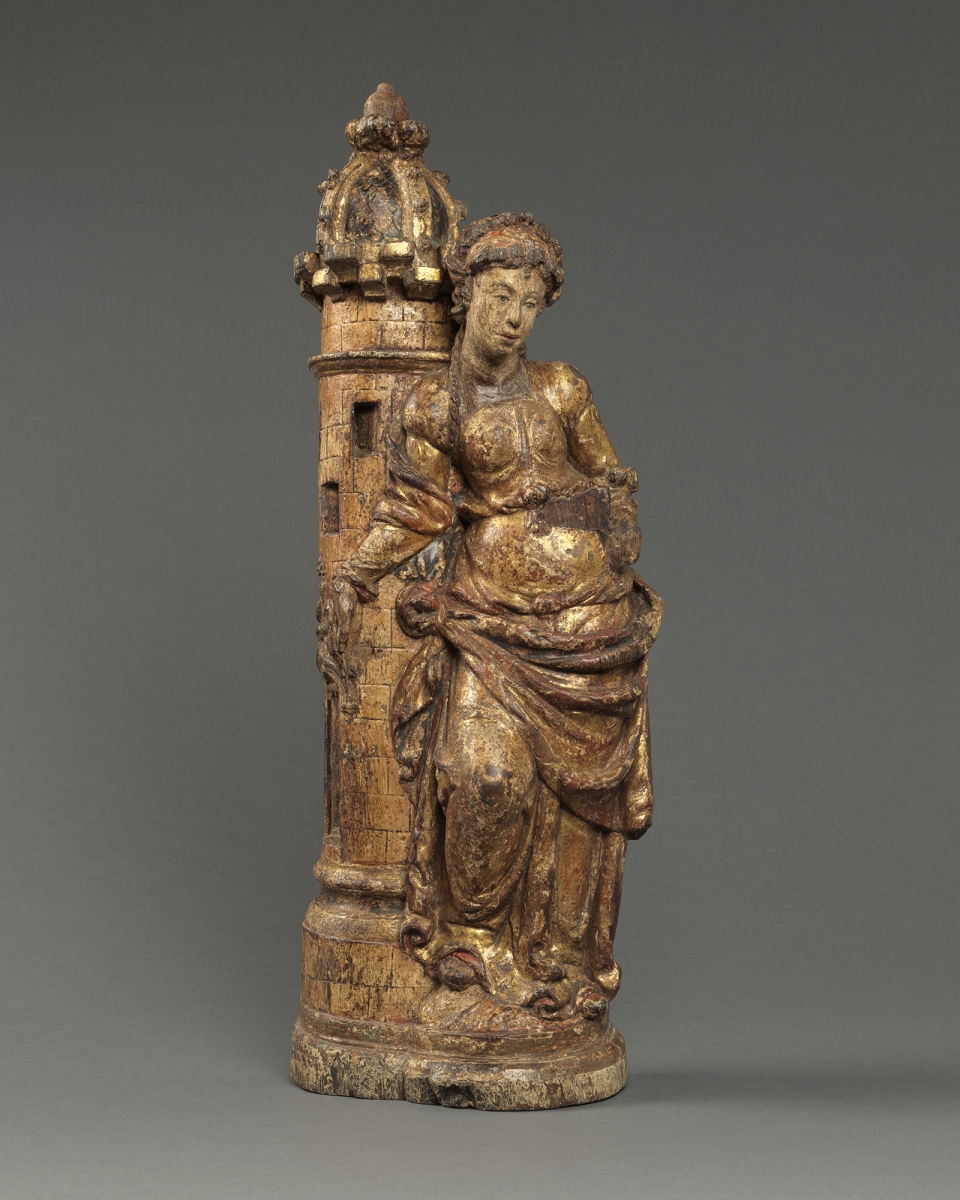Saint Barbara, France, Normandy, c. 1520 – 1540