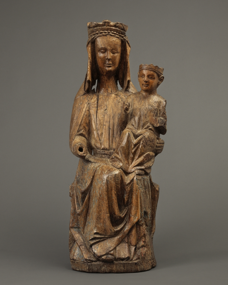 Sedes SapientiaeEnthroned Virgin and Child, Northern France, c. 1300