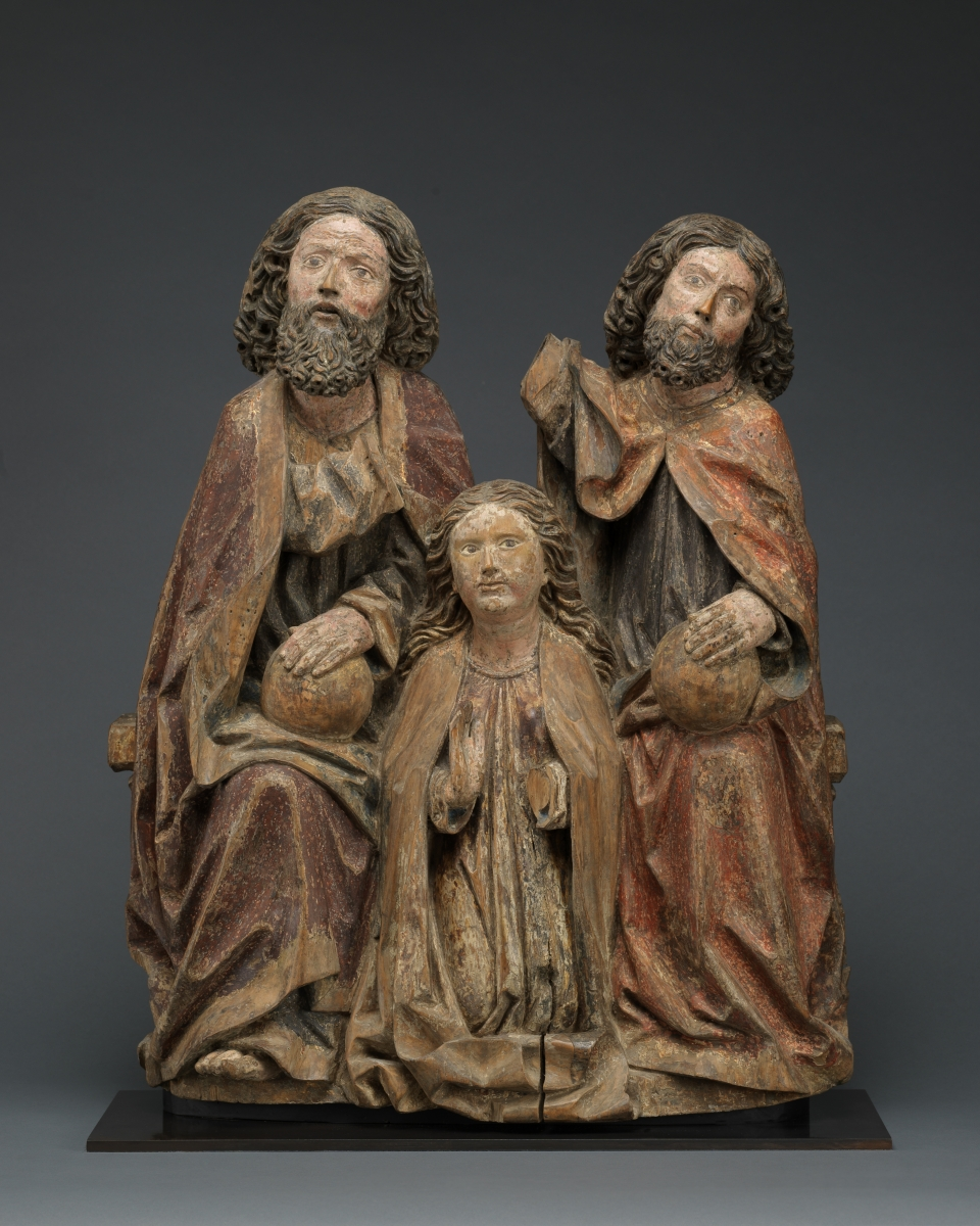 Coronation of the Virgin, Southern Germany, Swabia, c. 1500